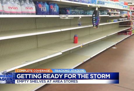 Complete Coverage, Preparing for Joaquin: CBS 6 News at 5:00 a.m. (October 2015)