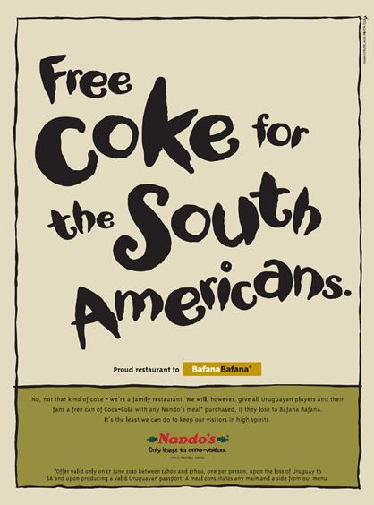 Nandos Coke