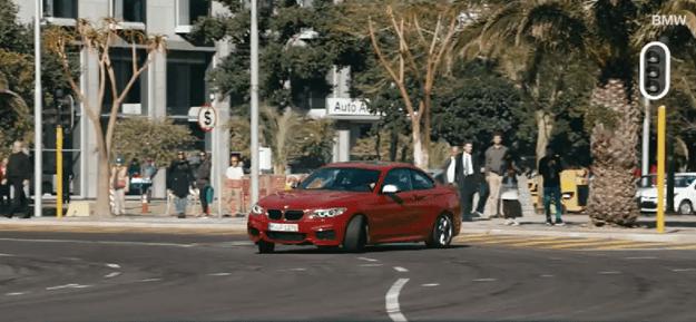 BMW Cape Tow Drift