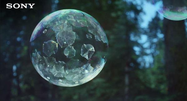 Sony Ice Bubbles