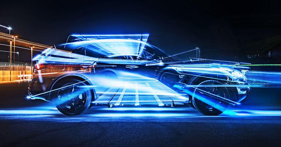 Light Painting Car Softbox