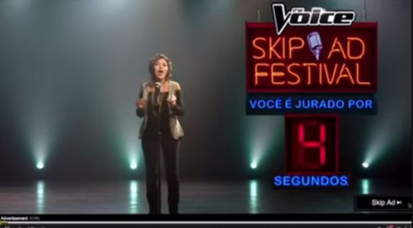 The Voice Skip Ad Festival