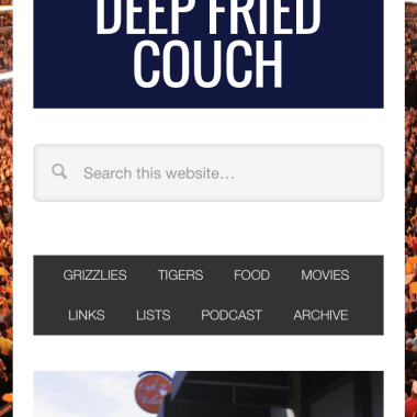 Portfolio: Deep Fried Couch