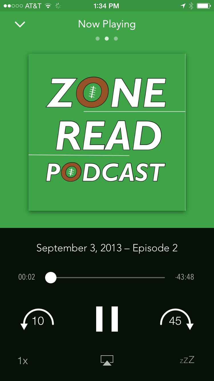 Portfolio: Zone Read Podcast
