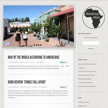 Portfolio: Wandering Africa