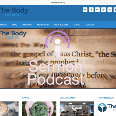 Portfolio: The Body Church