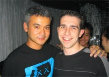 Satoshi Tomiie & Chris Salt in Tokyo - 28th Nov 2003