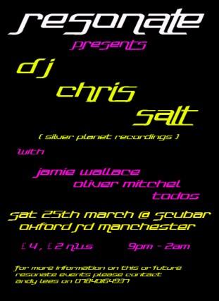Chris Salt @ Resonate, Manchester 2006