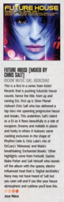 iDJ Mag review of Chris Salt- Future House