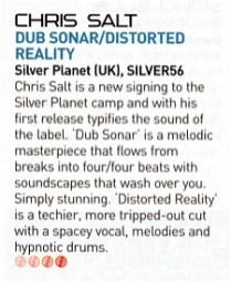 iDJ review of Chris Salt - Dub Sonar
