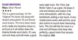 DJ Mag review of Ways
