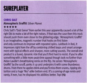 DJ Mag review of Chris Salt- Atmospheric Graffiti