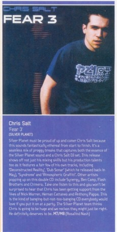 M8 review of Chris Salt - Fear 3