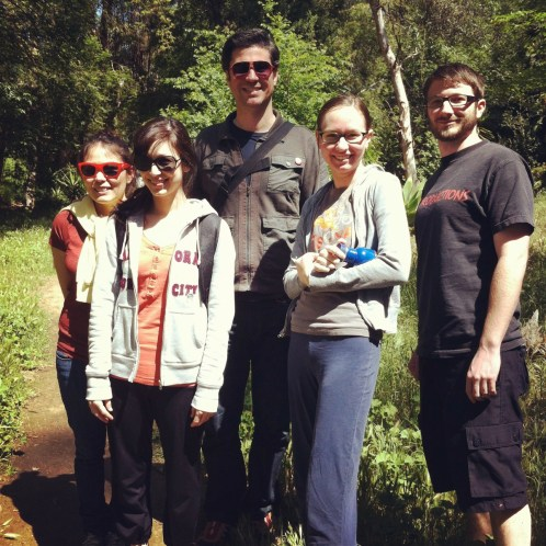 Some of the urban hike crew!