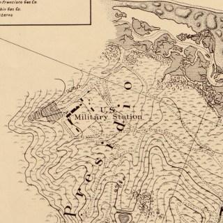 1857 Coast Survey_Presidio detail