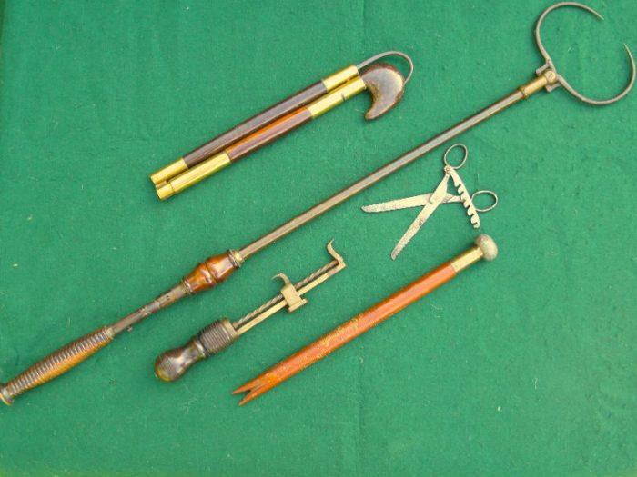 Antique Fishing Gaffs and Gadgets - Chris Sandford