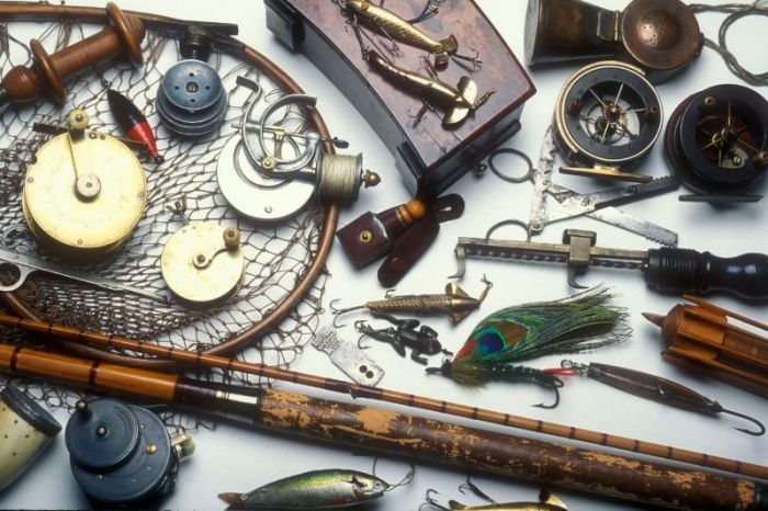 Vintage Fishing Tackle. Chris Sandford Collection