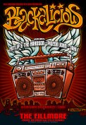 Blackalicious poster by Chris Shaw