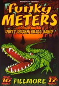 Funky Meters poster by Chris Shaw
