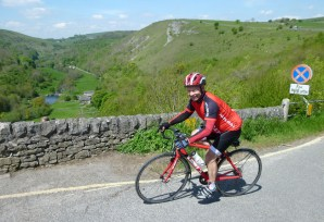 The short climb up Monsal Dale