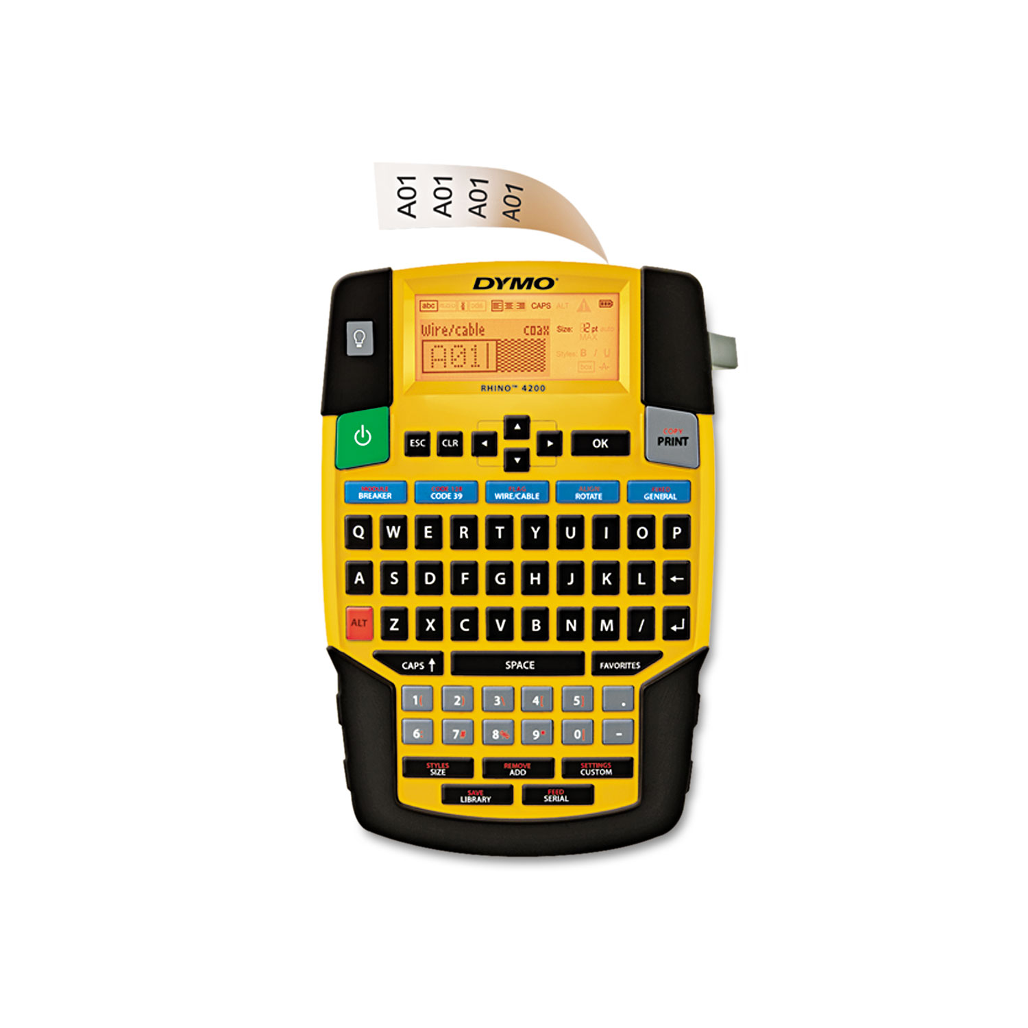 Labeling Tool Qwerty Keyboard 1801611 Label Makers Electronics