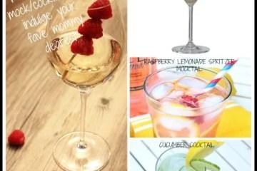 COCKTAIL OF THE WEEK: 4 Fancy Mommy Mocktails Cocktails...