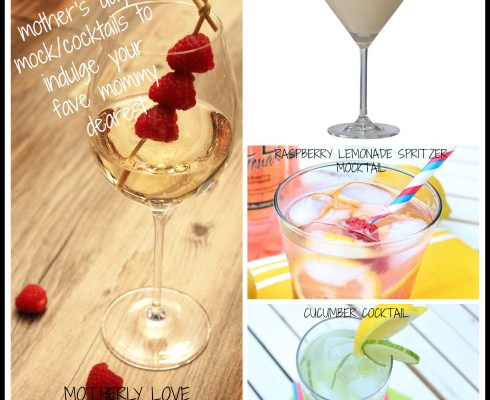 COCKTAIL OF THE WEEK: 4 Fancy Mommy Mocktails Cocktails...