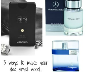 3 Make-Your-Dad Smell Good Gift Ideas - Stink Proof your Pop