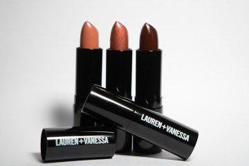 Lauren + Vanessa luxurious lipstick offers sexy hues for the holiday season and beyond.