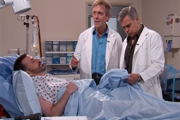 George Clooney busts out in Rapper's Delight on Jimmy Kimmel Live