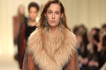 Lanvin Paris Fashion Week runway Redken hair