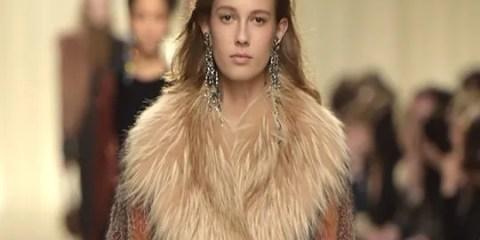 Lanvin Paris Fashion Week runway Redken hair