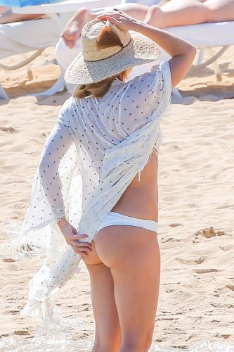 Kate Hudson's summer hat