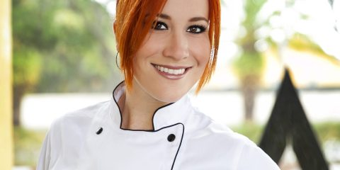 Chef Adrianne Calvo, chef, author, television personality, and restaurateur