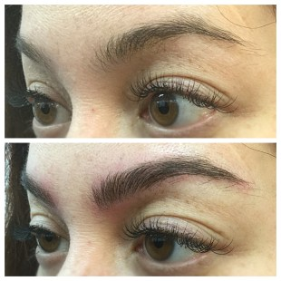 Microfeather brow trend
