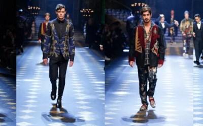 Redken Men's FW2017 Dolce & Gabbana recap, hair by Guido