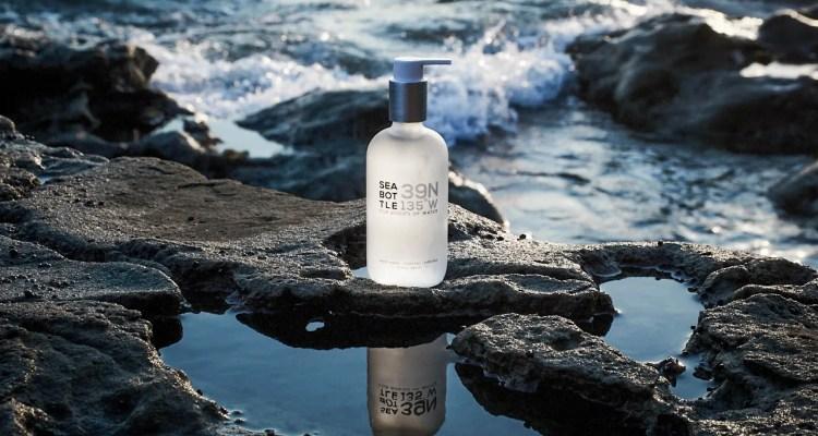 Sea Bottle, Natural Hand Wash in Coastal Lavender