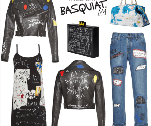 alice+Olivia collaborates with Basquiat