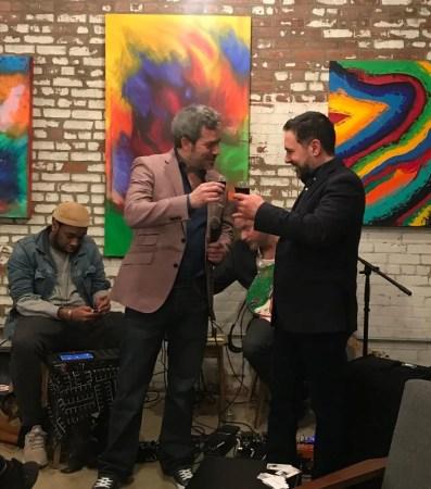 Jersey City Mark Finne Acuworx Art Reception
