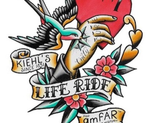 Kiehl's LifeRide 7 for amfAR Kicks off August 3 in NYC #LifeRide7