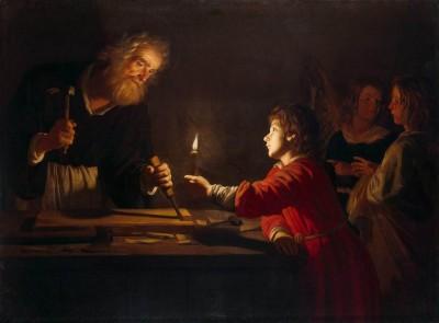 Childhood of Christ, Gerrit von Honthorst