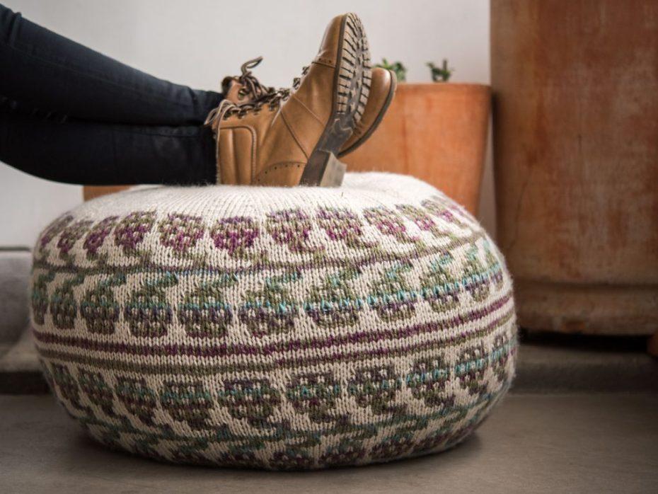 Hassock knitting pattern