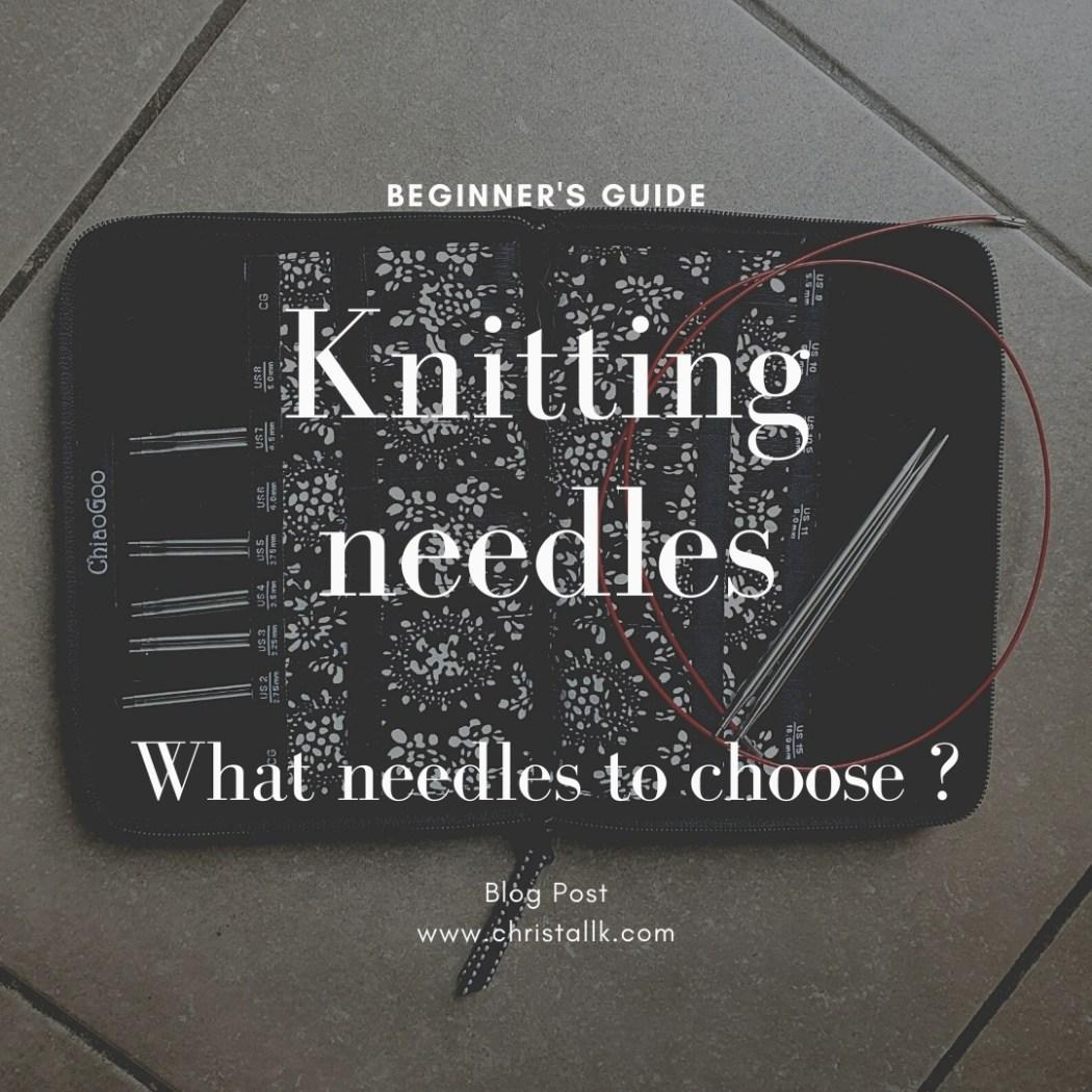 Knitting Needles Choice