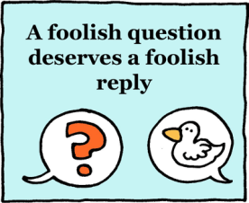 Foolish Reply