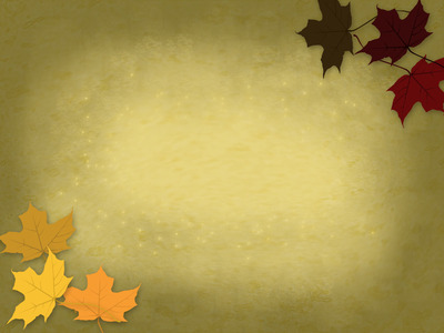 Fall Harvest Wallpaper Christian Image Scattered Leaves Powerpoint Themes Rainbow