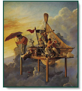 Greg Olsen  Airship Adventures  ChristCentered Art