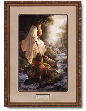 Greg Olsen  Be Not Afraid  Framed Open Edition Print