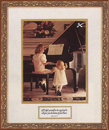 Greg Olsen  Dress Rehearsal  Little Angels Series
