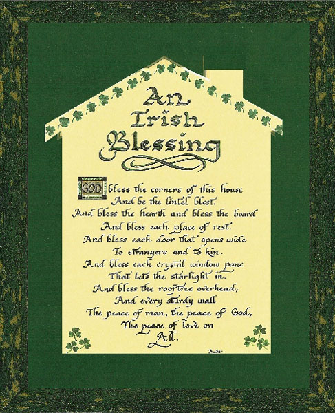 Candy Roe  An Irish Blessing for Home  ChristCentered Art