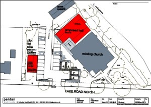 Our Proposed new Church Hall - Plans B